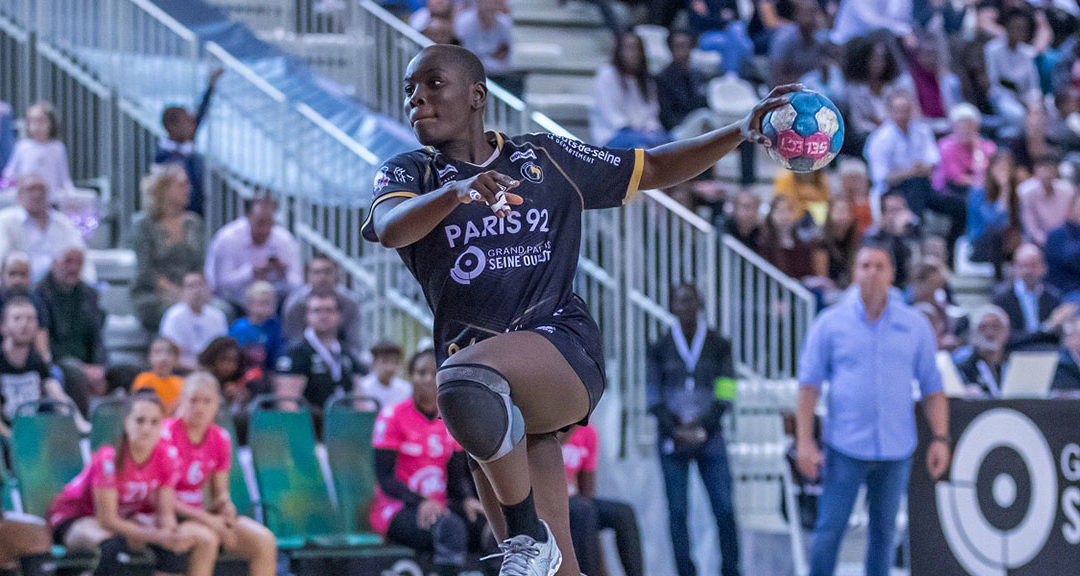 DMAX parraine la handballeuse Melvine Deba