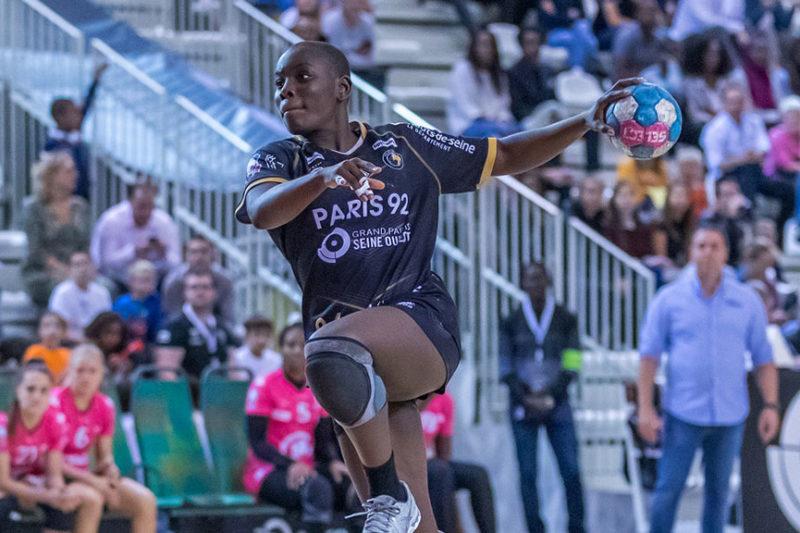 handballeuse Melvine Deba